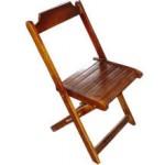 Cadeira de Madeira Dobrável Mel