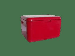 caixa-termica-de-plastico-vermelha
