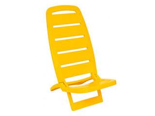 Cadeira Tramontina Guarujá Amarela