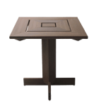 mesa de madeira plástica